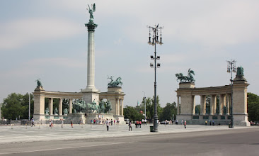 Photo: Day 70 - Heroes Square in Budapest #1