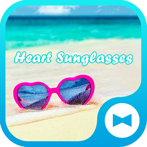Summer Wallpaper Heart Sunglasses Theme Icon
