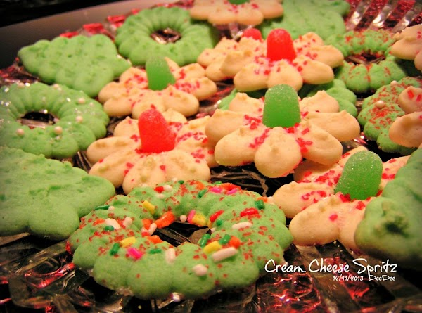 Cream Cheese Spritz Cookies Recipe