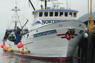 Photo: Northwestern tendering in Cordova