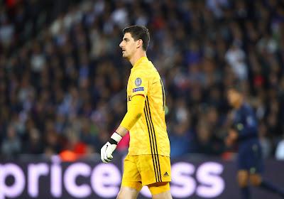 Thibaut Courtois blijft voorlopig afwezig bij Real Madrid