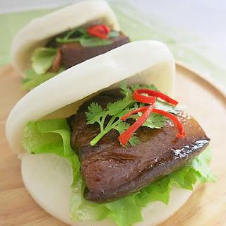 Pork Belly Bun 扣肉包 Recipe