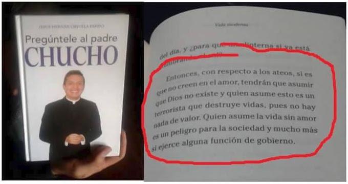 Noticias criminología. En Colombia el Padre Chucho sobre ateos