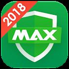 MAX病毒清理 - 专业杀毒,垃圾清理,手机加速,应用锁 icon