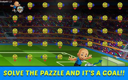 Mighty Raju Football Puzzle screenshot