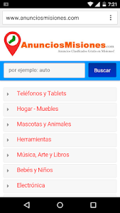 Anuncios Misiones screenshot 0
