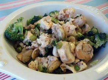 Becky's Fresh Vegetable Salad Recipe