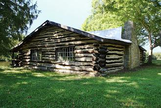 Photo: The Pfarr Log House