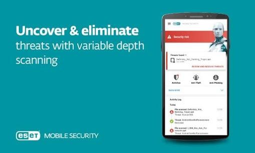 ESET Mobile Security & Antivirus PREMIUM v5.2.49.0 + Keys 10