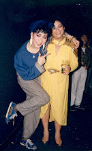 Photo: Which one of these is the real drag queen?? Donny Tse & Marie Cordero @ Canton 1987.