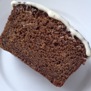 Gingerbread Loaf with Cream Cheese Frosting.