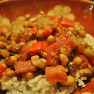 Southern Style Black Eyed Peas