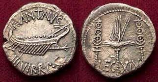 C:\Users\NF\Desktop\ΜΑΡΚΟΣ ΑΝΤΩΝΙΟΣ, Νομίσματα. Marc Antony Coins, 01.jpg
