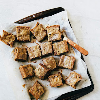 Chocolate Hazelnut Gianduja Blondies.
