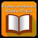 Prosas profanas Rubén Darío Libro gratis - Androidアプリ