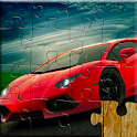 Sports Car Jigsaw Puzzles Game - Kids & Adults 🏎️ icon