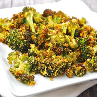 Roasted Parmesan Garlic Broccoli Recipe