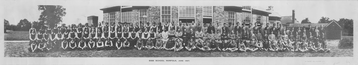 Photo: Diss Secondary School – 1927