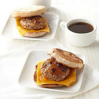 Make-and-Take Breakfast Sausage Sandwiches.