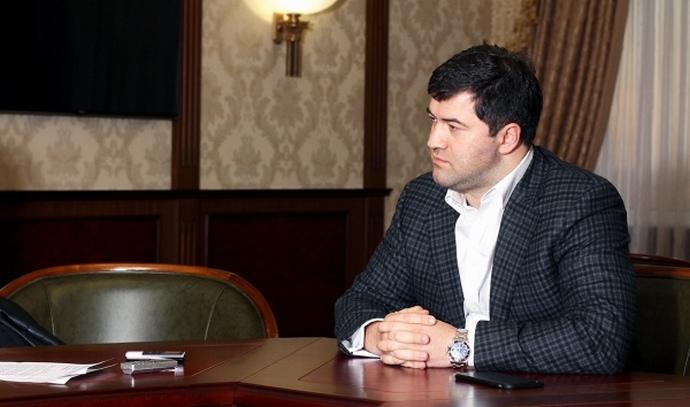 Роман Насіров під час інтерв'ю з ЕП. 2015 рік.
