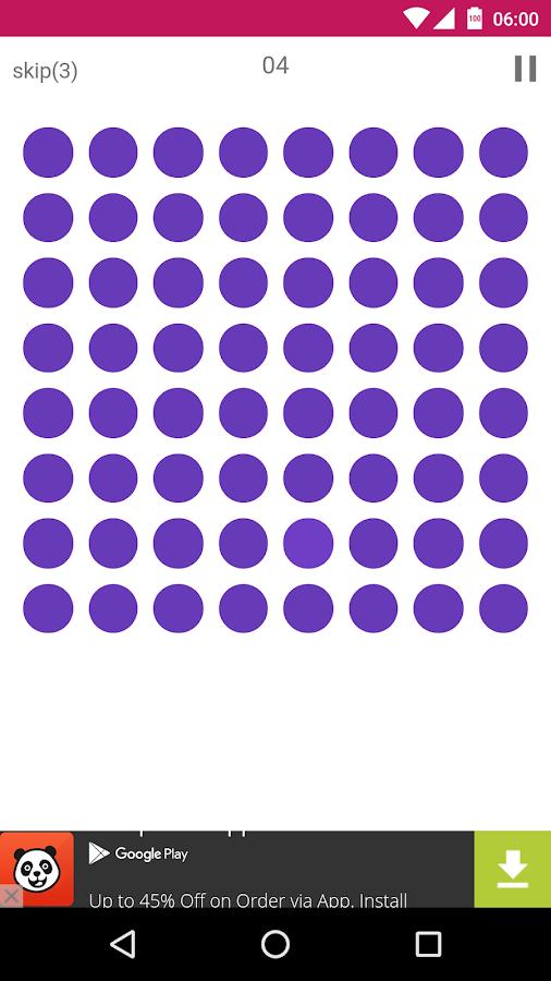 Spot the color