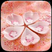 Pink Shots Tile Puzzle