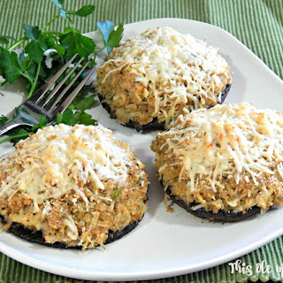 Crab Stuffed Portobello Mushrooms Recipes.