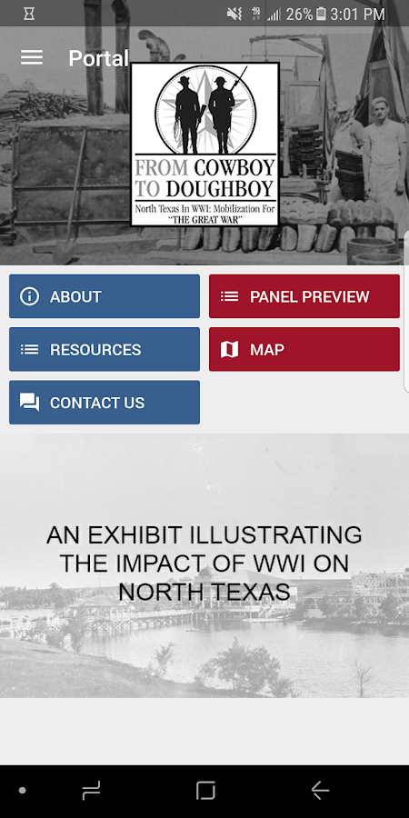 North Texas in WWI: Mobilization for the Great War- screenshot