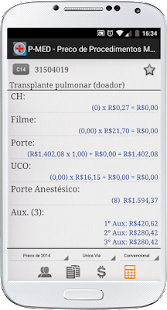 PMED - Preço Procedimento Médico TUSS CBHPM AMB - náhled