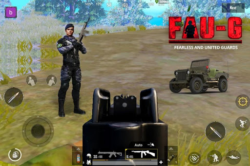 FAUG screenshot 3