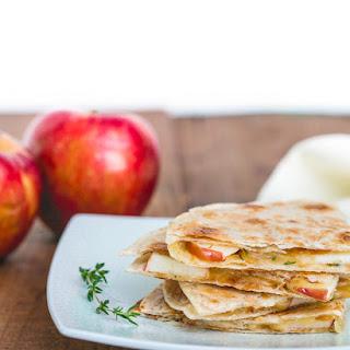 Apple and Gouda Quesadillas Recipe