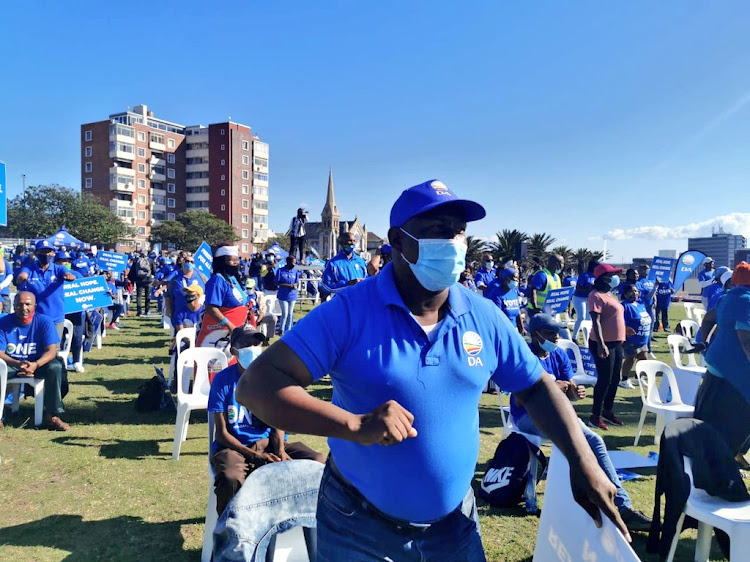 The DA's Freedom Day rally in Nelson Mandela Bay.