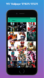 HD Wallpaper K4M3N R1D3R APK screenshot thumbnail 3