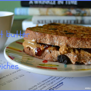 Grilled Peanut Butter & Jelly Sandwiches.