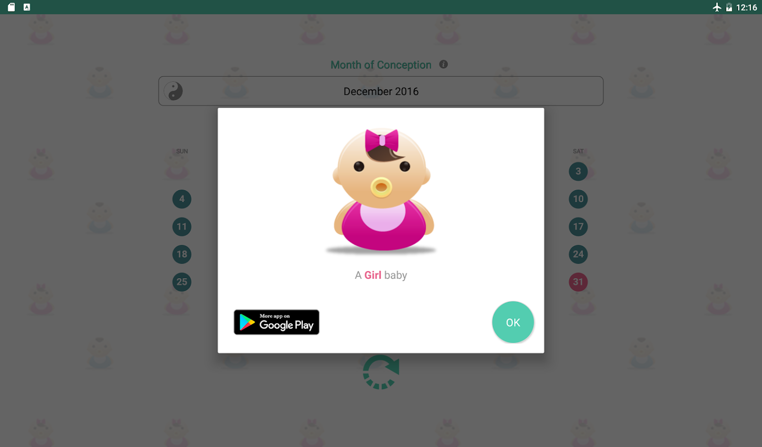 Baby gender predictor android apps on google play baby gender predictor screenshot nvjuhfo Image collections