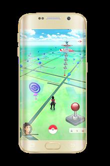 Joystick on Poke Go Prank screenshot 3