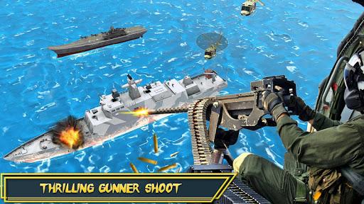 Helicopter Strike Gunship War: 3d Helicopter Games ss2