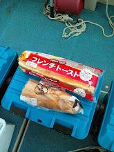 Photo: ・・・そりゃー1回で食えんわなー。ちょこちょこ食って下さい。