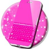 Keyboard Design Pink