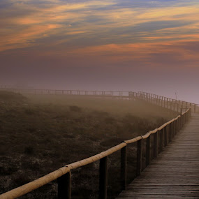 Just Go by Gil Reis - Buildings & Architecture Bridges & Suspended Structures ( sky, places, nature, clouds, travel, sea, life )