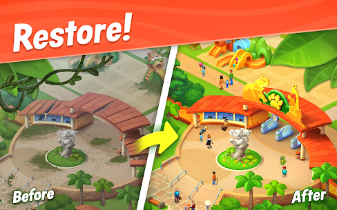 Wildscapes (MOD, Unlimited Money) APK for Android 1