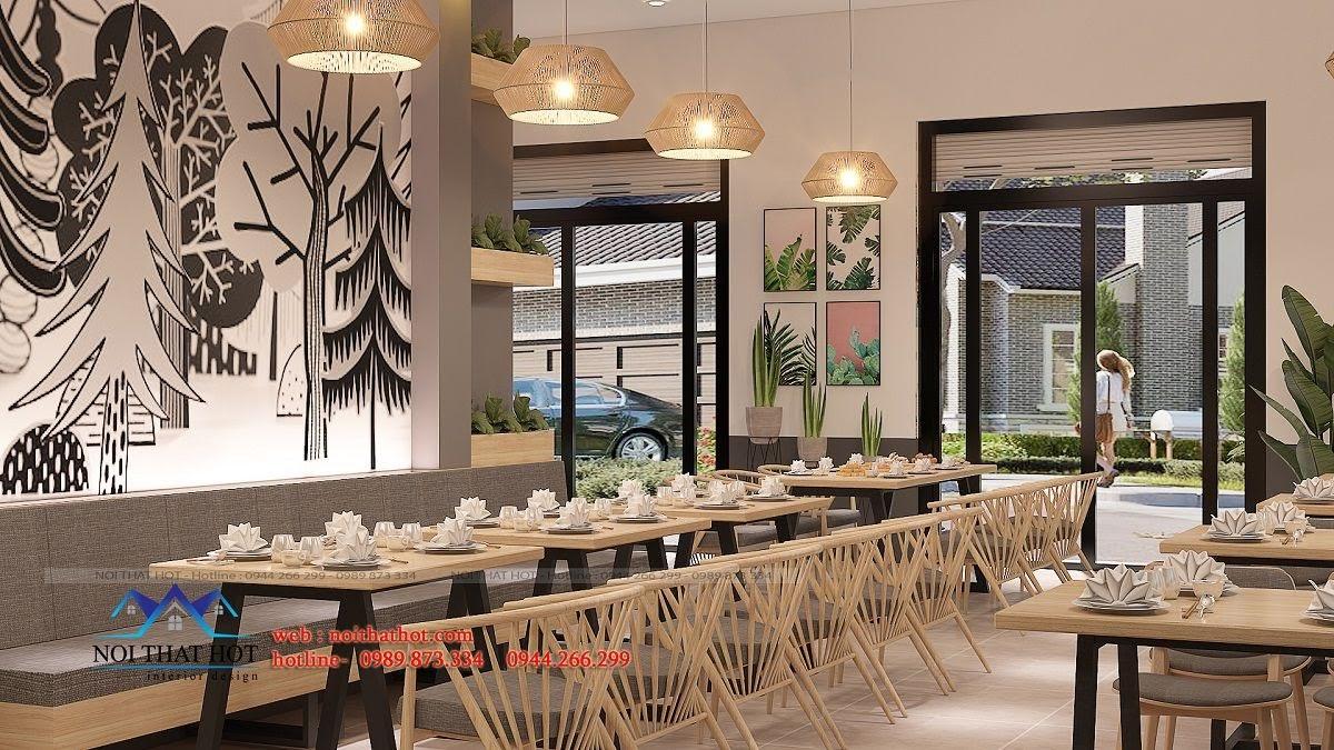 thiết kế nhà hàng trường giang 14
