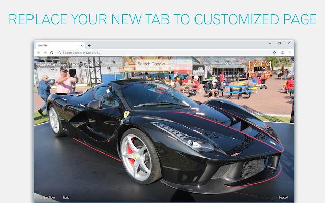Ferrari LaFerrari Wallpaper HD Custom New Tab