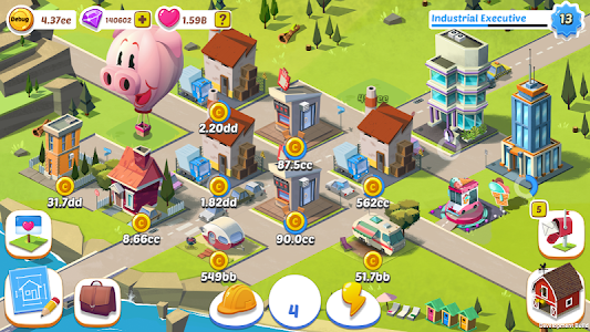 Build Away! -Idle City Builder v1.3.0 Mod Gems