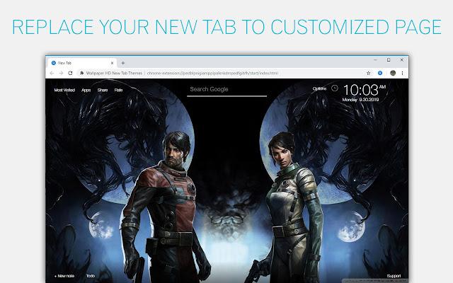 Prey Wallpapers HD New Tab by freeaddon.com