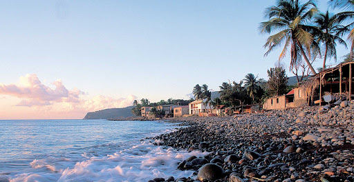 Guadeloupe-pointe-noire-shore.jpg - Enjoy a gentle breeze and setting sun on Basse Terre, Guadeloupe.