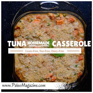 Paleo Tuna Casserole Recipe [Gluten-Free, Nut-Free, Dairy-Free]