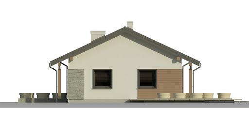 Dom przy Bukowej 3 - Elewacja prawa