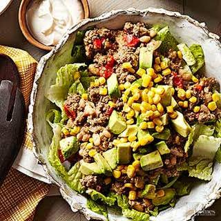 Slow Cooker Taco Salad.