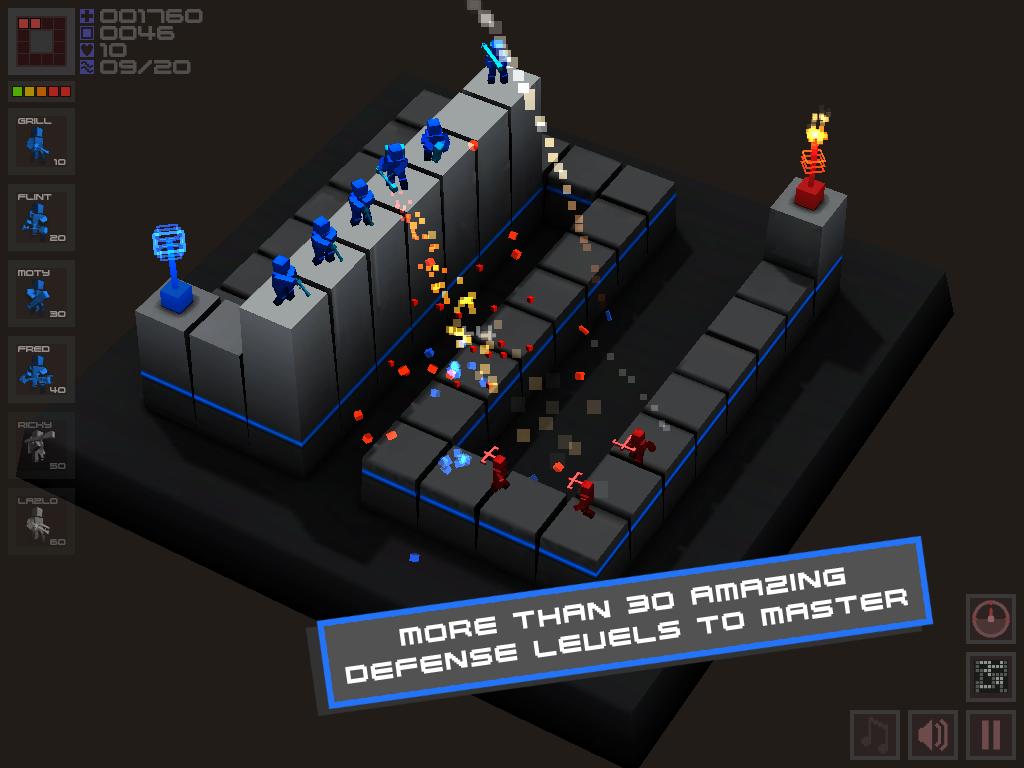 Cubemen- screenshot